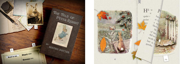 Peter Rabbit book for iPad, iPhone, iPod Touch