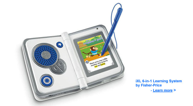 iXL Learning System by Fisher Price
