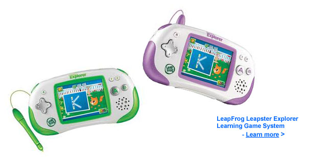 LeapFrog Leapster Explorer Learning Toy