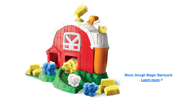 Moon Dough Magic Barnyard Toy