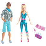 Barbie and Ken from movie Toy Story 3