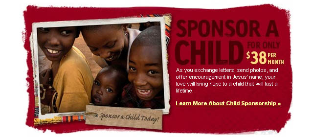 Compassion International Sponsor a Child