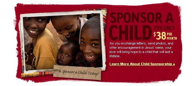 Compassion International Sponsor a Child