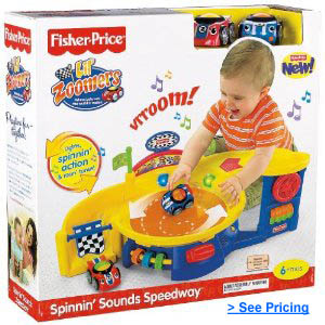 Lil Zoomers Spinnin' Sounds Speedway by Fisher Price