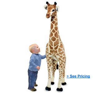 Melissa and Doug Giraffe Plush Toy