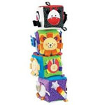 Taggies Big Soft Blocks Baby Toy