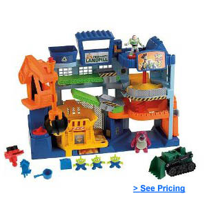 Toy Story 3 Imaginext Landfill Playset