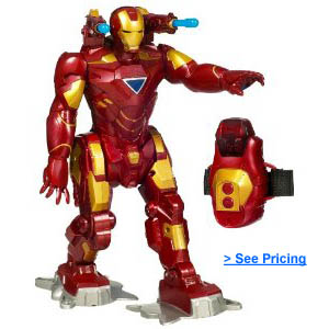 Iron Man Walking RC Robot Toy