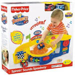Lil' Zoomers Spinnin' Sounds Speedway by Fisher Price