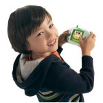 Child with Leapfrog Explorer