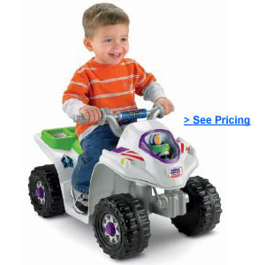 Power Wheels Disney Toy Story 3 Lil Quad