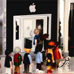 PlayMobil Apple Store Fake Toy