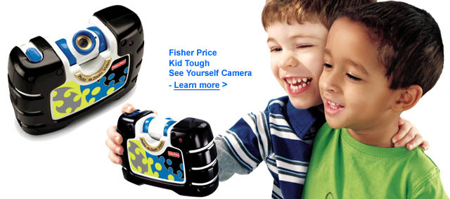 Fisher Price Kid Tough See Yourself Camera