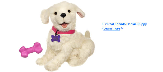 Fur Real Friends Cookie Puppy