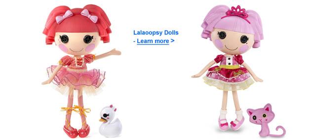 Lalaoopsy Dolls