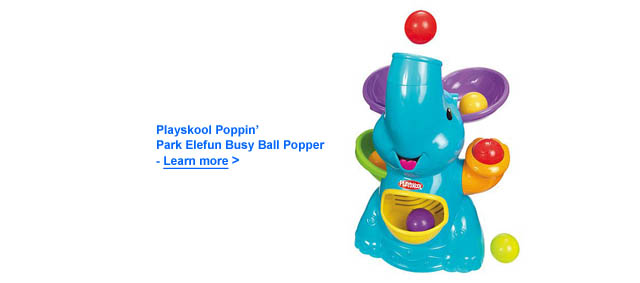 Playskool Poppin Elefun Busy Ball Popper