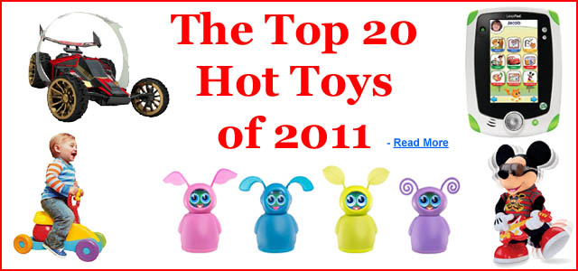 The Top 20 Toys of 2011
