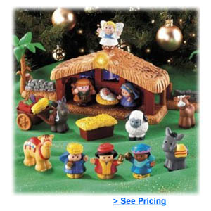 Little People Christmas Story Nativity Playset | All The Best Toys