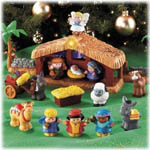 Little People Christmas Story Nativity Playset