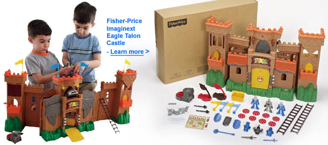 Fisher Price Imaginext Eagle Talon Castle