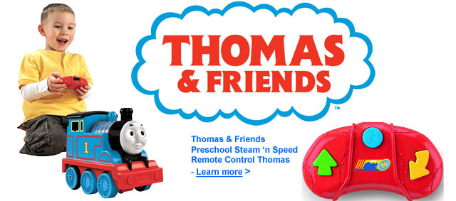 Thomas and Friends Steam and Speed RC Thomas