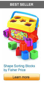 Babys First Blocks by Fisher Price