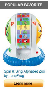 Spin and Sing Alphabet Zoo by LeapFrog