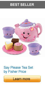 Say Please Tea Set by Fisher Price