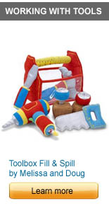 Toolbox Fill and Spill by Melissa and Doug
