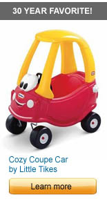 Cozy Coupe Car by Little Tikes