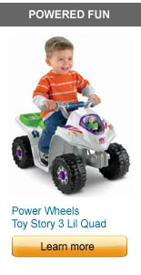 Power Wheels Toy Story 3 Lil Quad