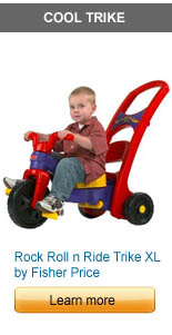 Rock Roll n Ride Trike XL by Fisher Price