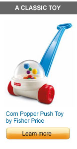 Corn Popper Push Toy by Fisher Price