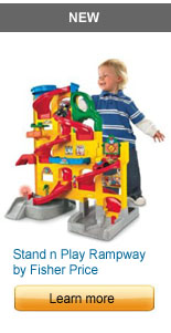 Fisher Price Stand n Play Rampway Playset