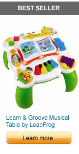 Learn and Groove Musical Table by LeapFrog